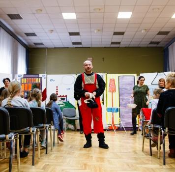 Przedstawienie w Szkole Muzycznej