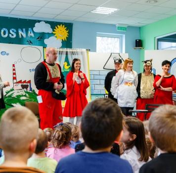 Czerwony Kapturek w Przedszkolu Akademickim